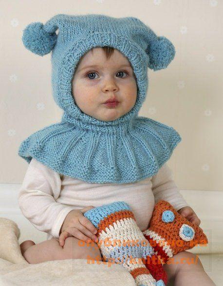 детская вязаная шапочка