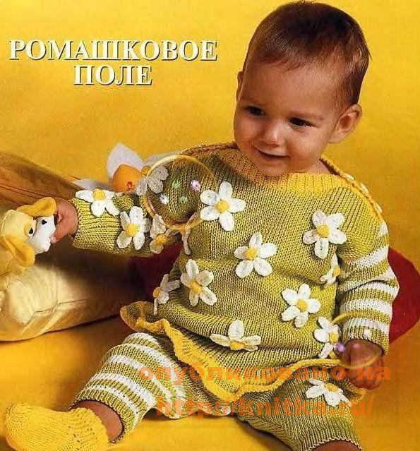 Здесь выкладывайте фото детских вещичек, вязанные спицами.  Если есть схемы вязания, тоже не забудьте выложить!