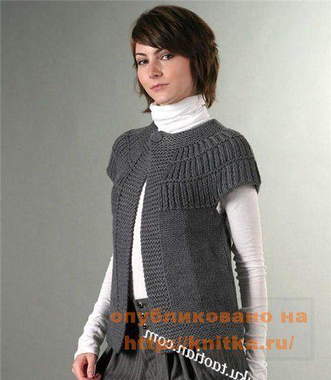 Бесплатные схемы вязания спицами кардиган.