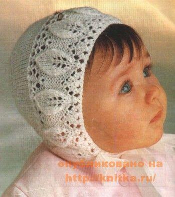 вязанные детские шапки для мальчиков.