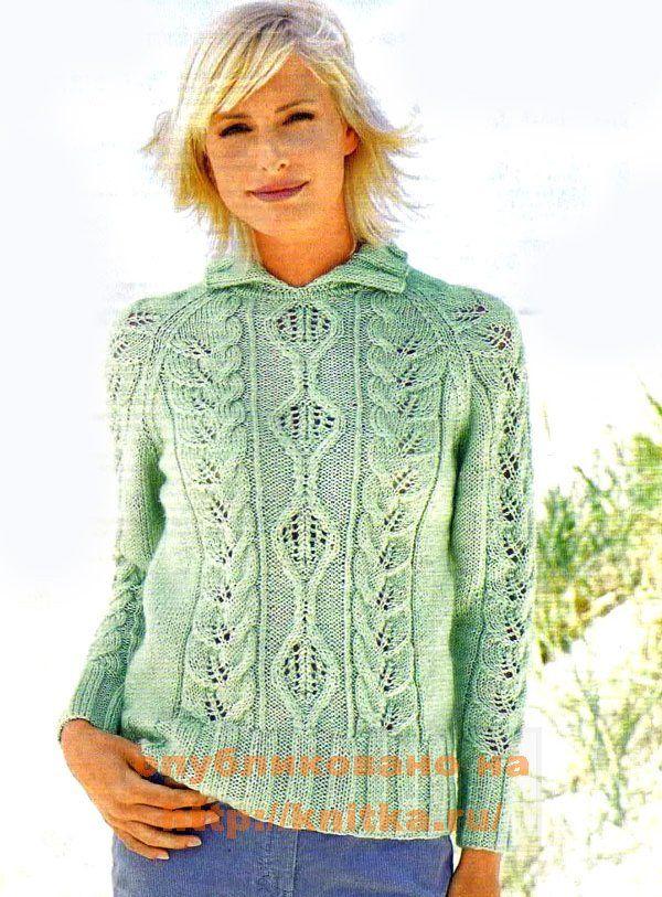"""Дорогие женщины, давайте сами свяжем это  """"чудо """".  Хобби.  Этот потрясающий пуловер БЬЕТ рекорды популярности..."""