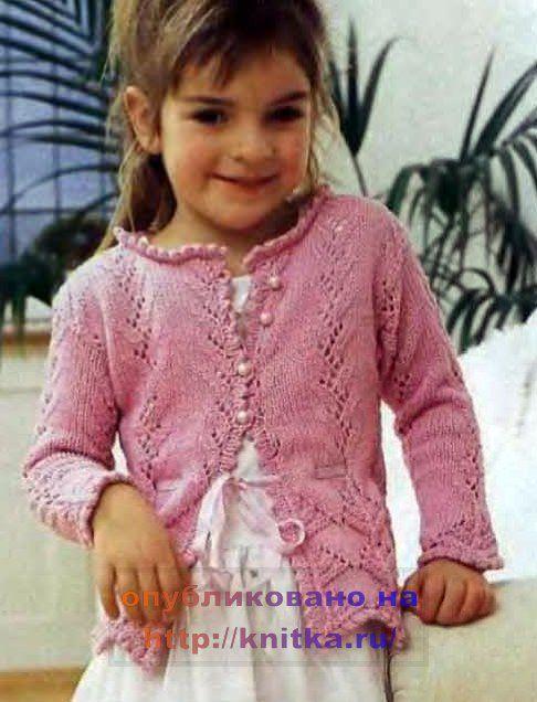 фото вязание спицами для детей