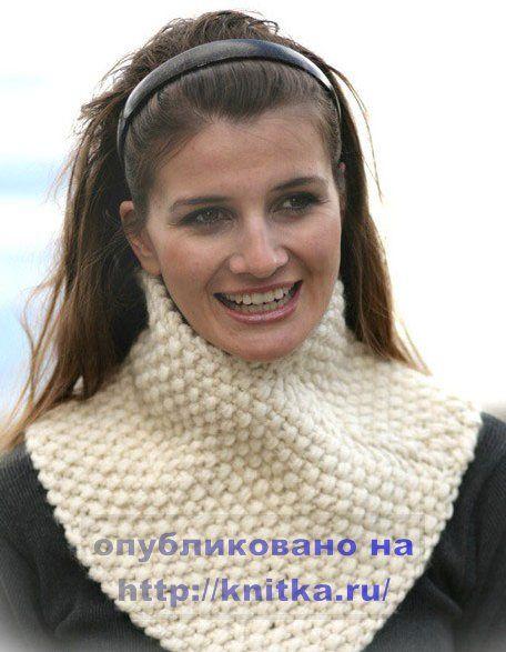 Вязание шарфов спицами схемы