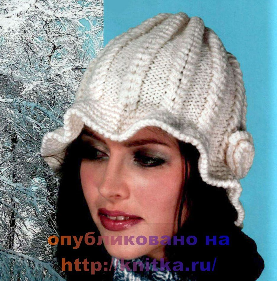 вязаная шляпа