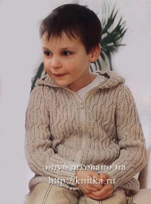 Капюшон спицами схема вязания для детей фото 140