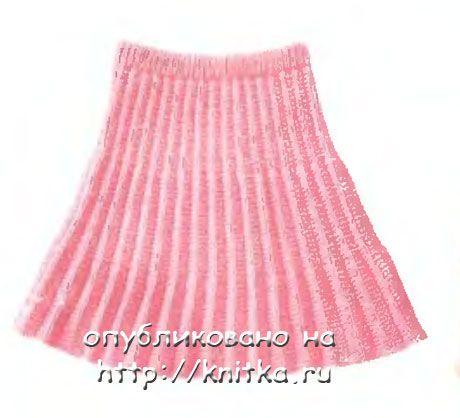 Схема Вязания Юбки Для Девочки