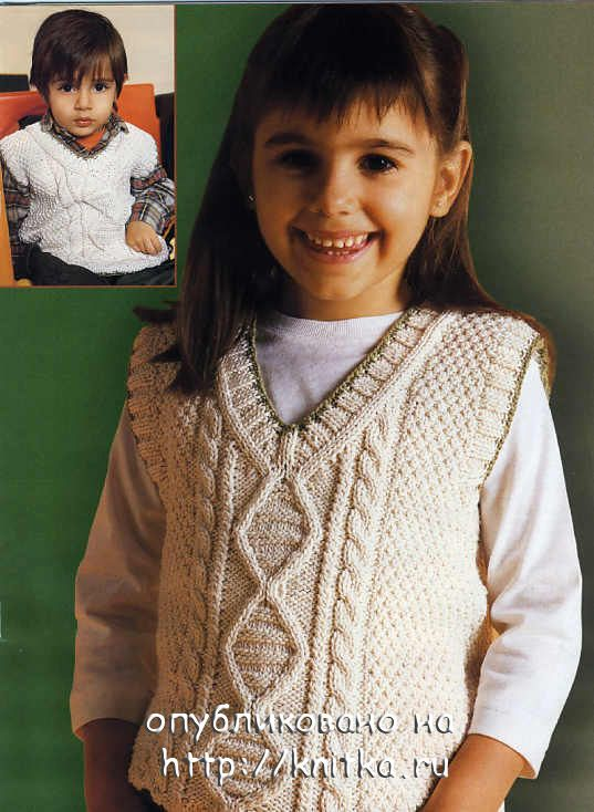 вязание спицами для детей от 0 до 3 лет с описанием бесплатно. вязание.