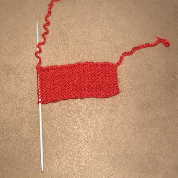 Фото мастер - класс по вязанию спицами удобных пинеток ...