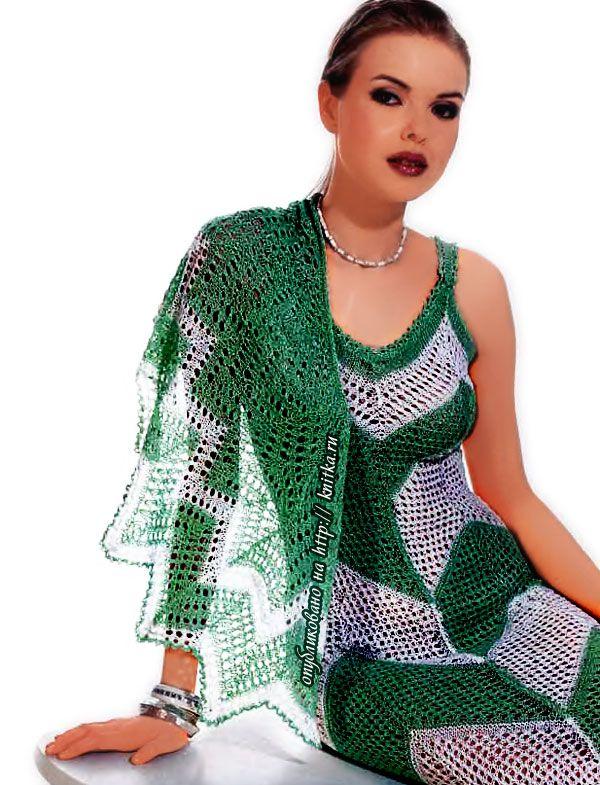 """вязание спицами болеро бесплатно  """" Сайт для женщин."""