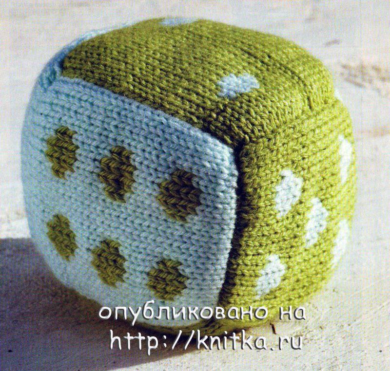 Для вязания кубика Вам потребуется: * по 50 г пряжи Catania (100 % хлопок; 50 г/165 м) от Schachenmayr 01000 белого и...