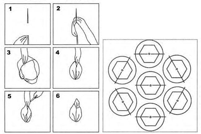сумка крючком с атласными лентами схема - Сумки.