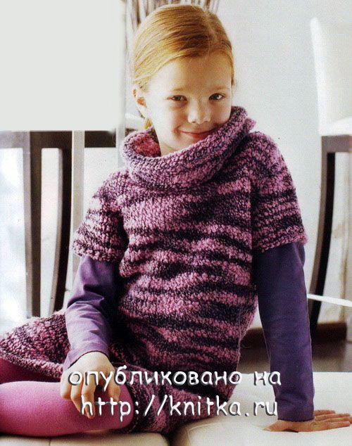 Вяжем для девочки платья, сарафаны, туники - Форум по вязанию.