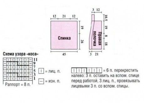 Нежный розовый жилет