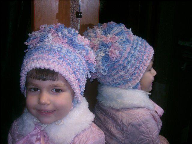 мастер класс по вязанию детской шапочки вязание для детей