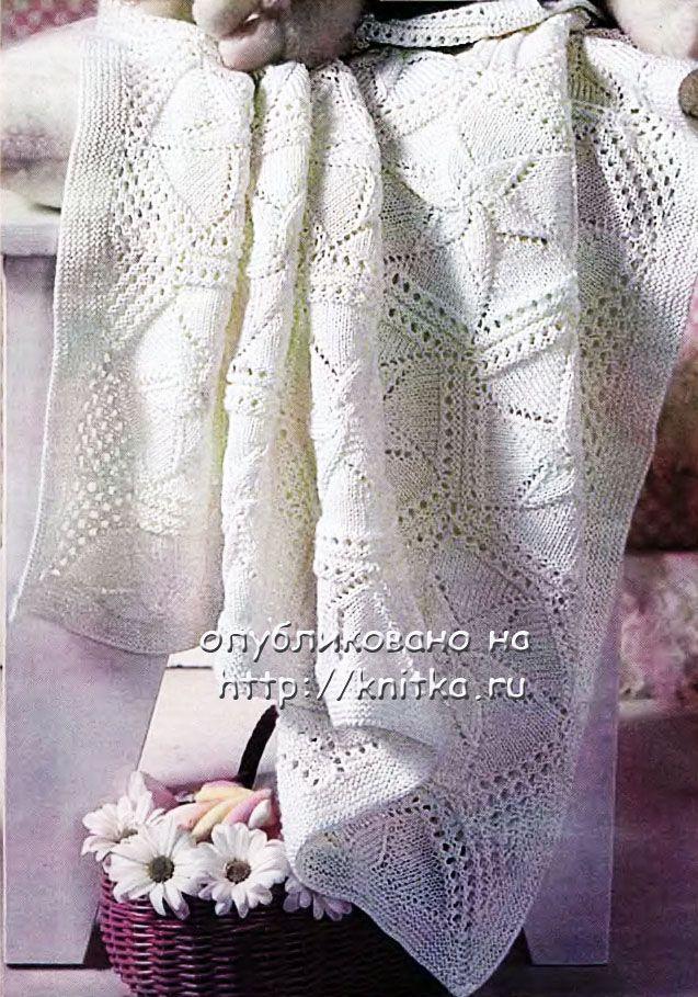 Описание и схемы вязания пинеток на спицах.