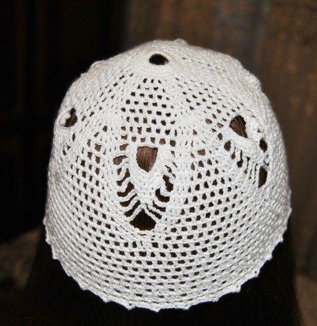 шапочка, вязание крючком