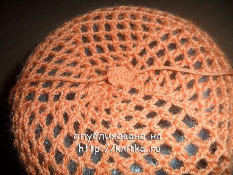 Оранжевый берет