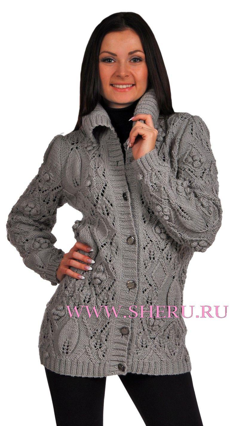 Жакет женский спицами на knitka ru вязание спицами схема жакет