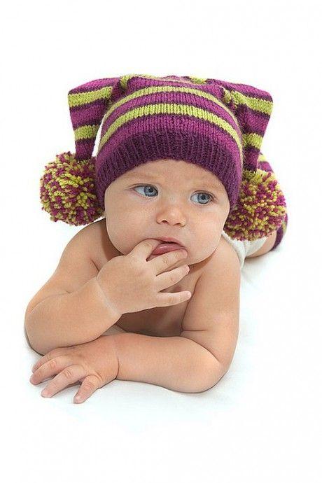 Вязанные шапочки для мальчиков схемы.