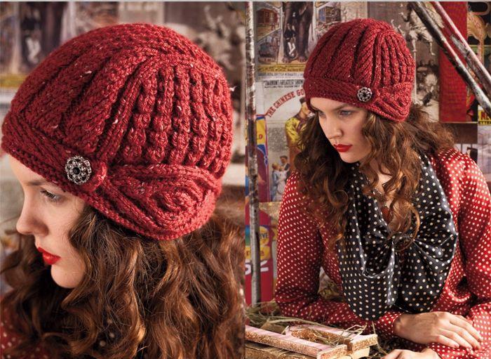Шапочка-шлем из Vogue Knitting, Вязание для женщин