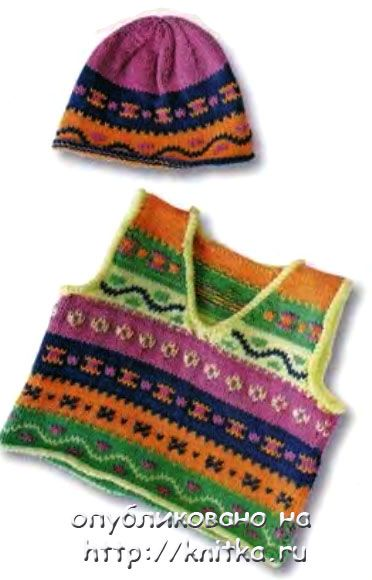 Схемы вязания пинеток для новорожденных