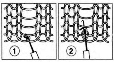 Шапочка - парик связанная спицами