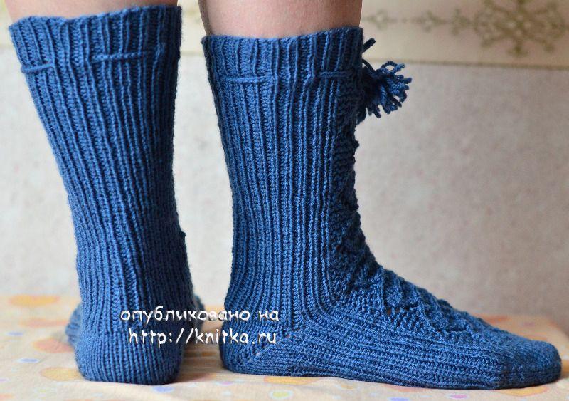 Схема вязания носков: