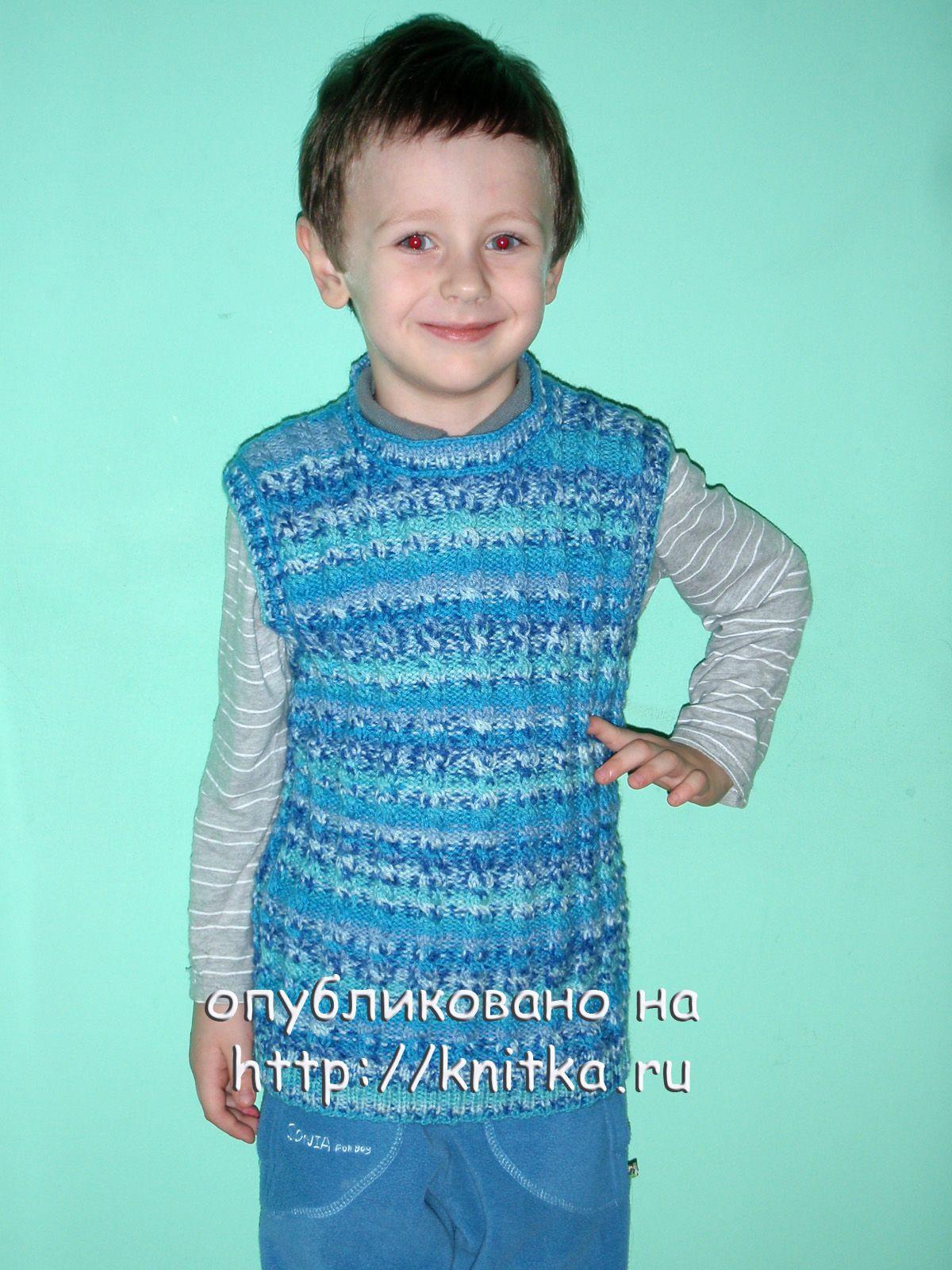 Вязание теплых для детей