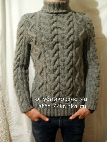 фото мужского свитера