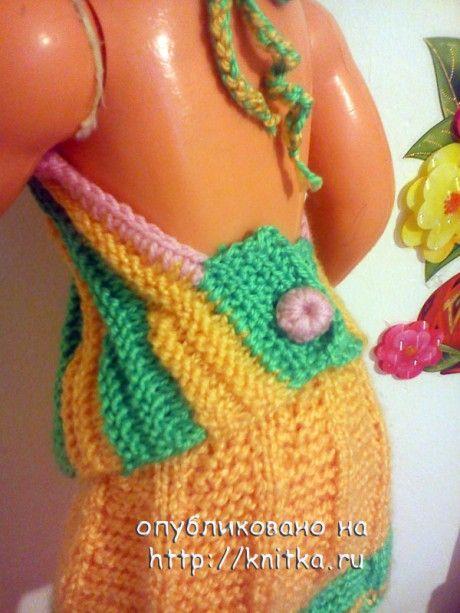 фото вязаной спицами блузки