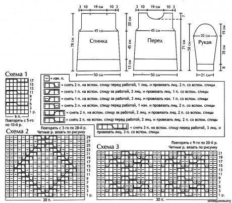 Вязаная модель белого длинного свитера.  Вязание спицами.  Размер 40 ***не очень просто материалы: 800 г пряжи (100...