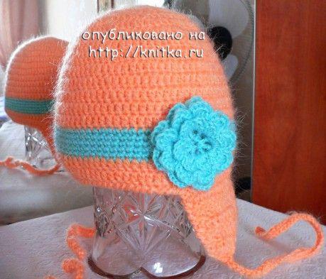 фото шапочки крючком