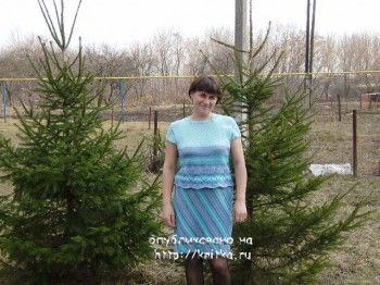 фото вязаного костюма