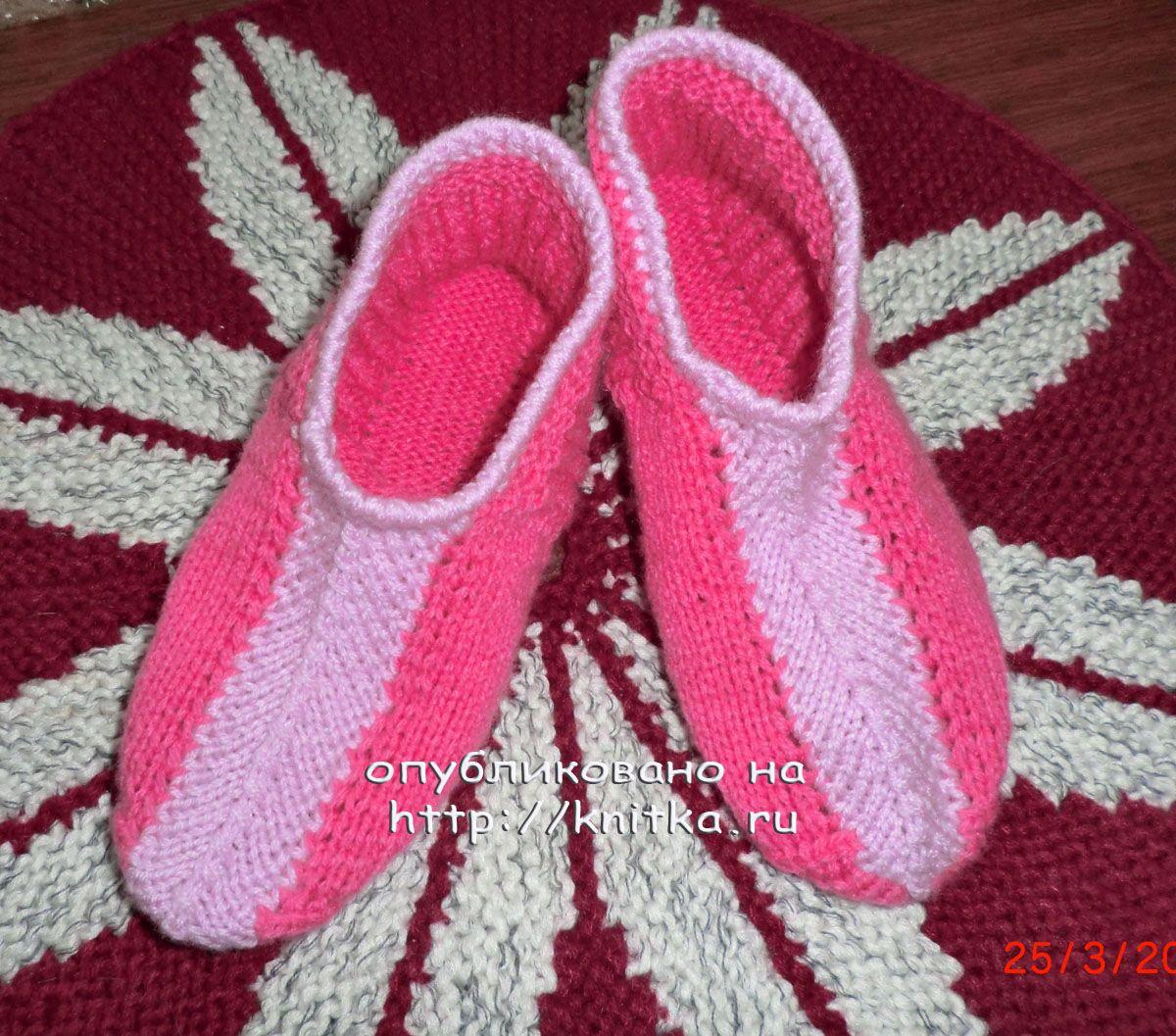 схемы вязания однотонных носков