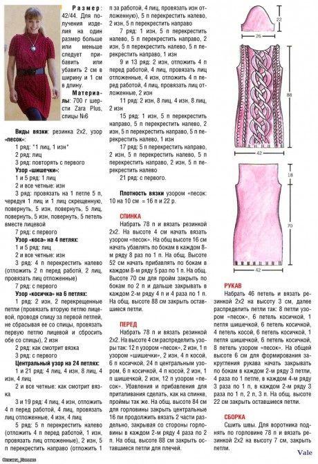 описание платья