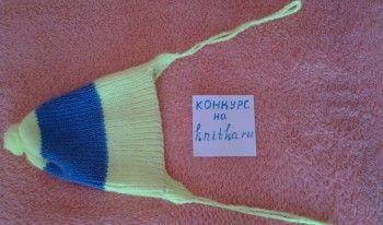 фото вязаной спицам ишапочки