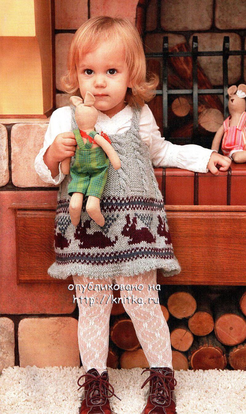 Вязание для девочек 5лет