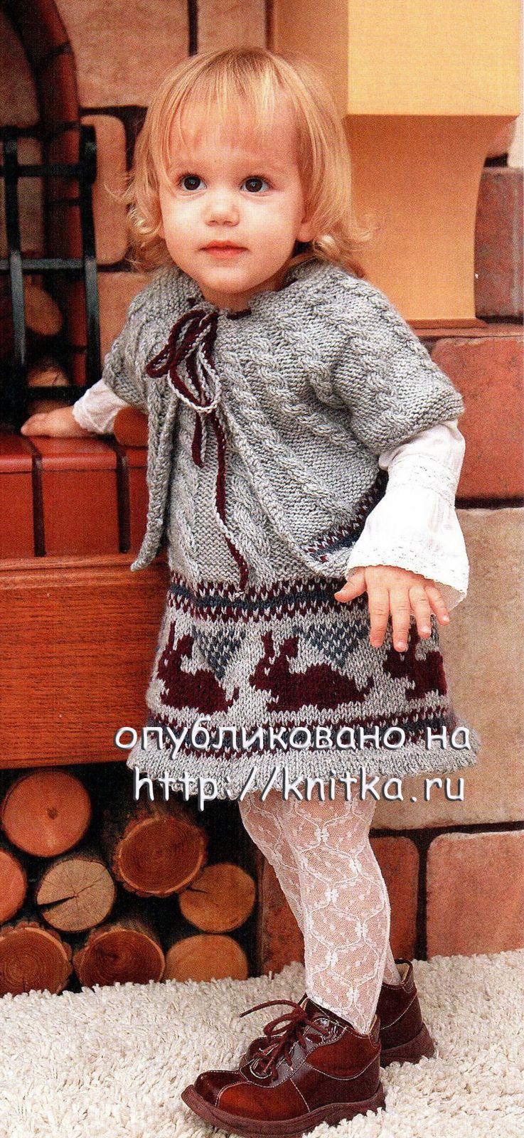 Вязание спицами для для маленьких девочек