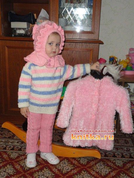 Шапочка, свитер и штанишки