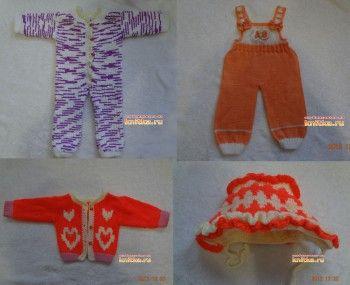 вязание спицами для детей фото