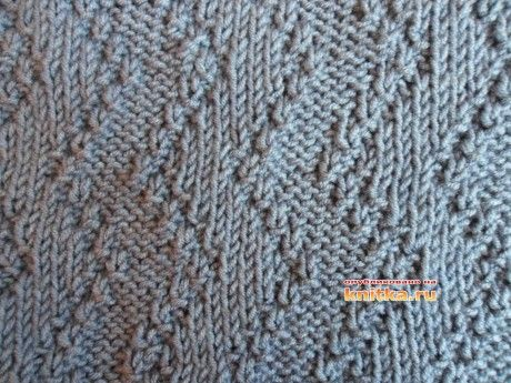 мужской свитер вязание спицами