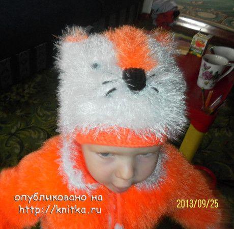 фото шапочки спицами