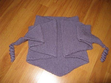 вязание бактуса ажурного