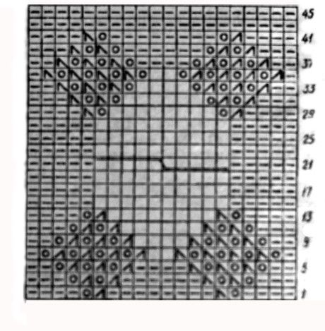 фото вязаной спицами жилетки