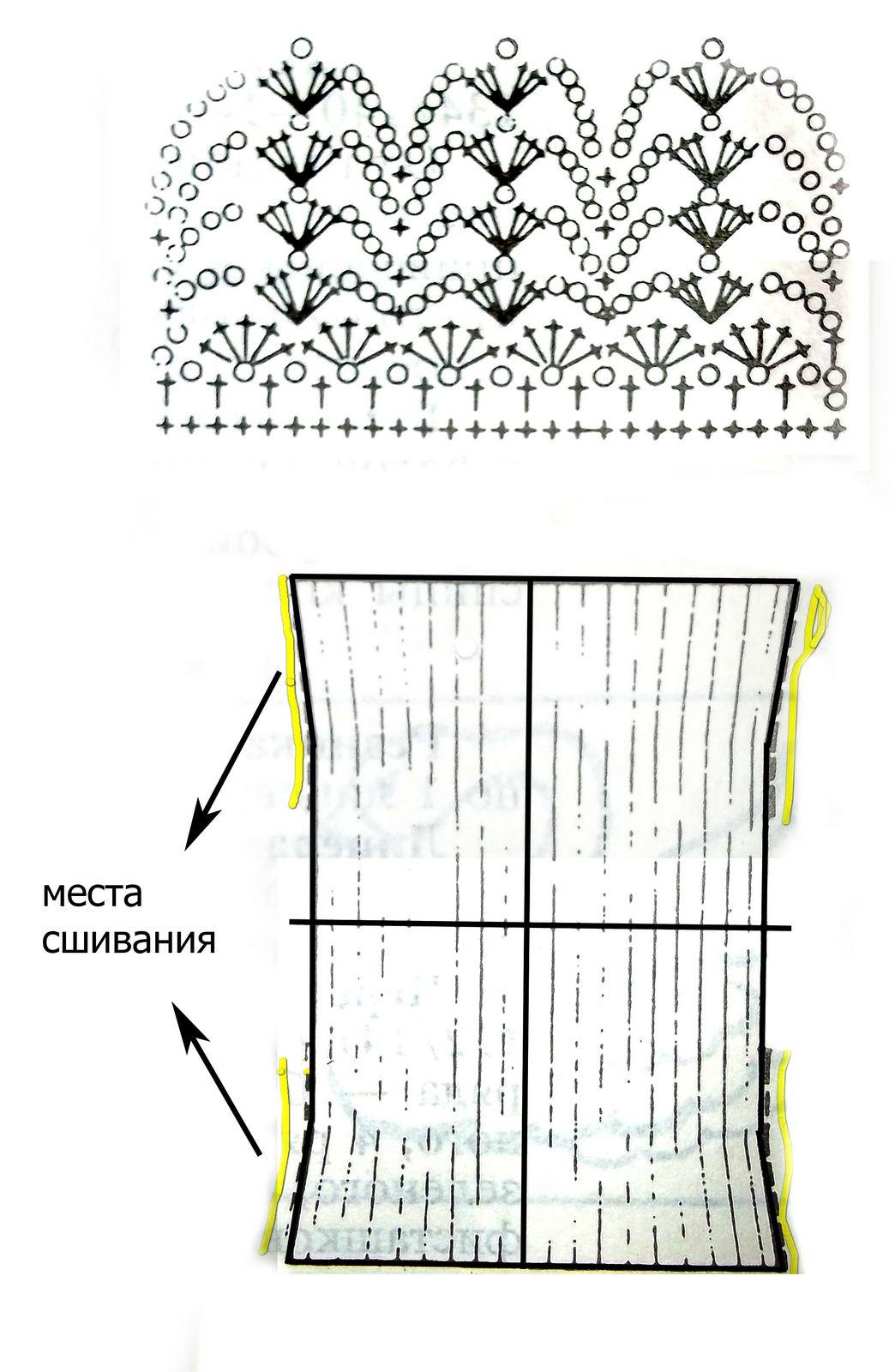 Схема вязания болеро для детей фото 194
