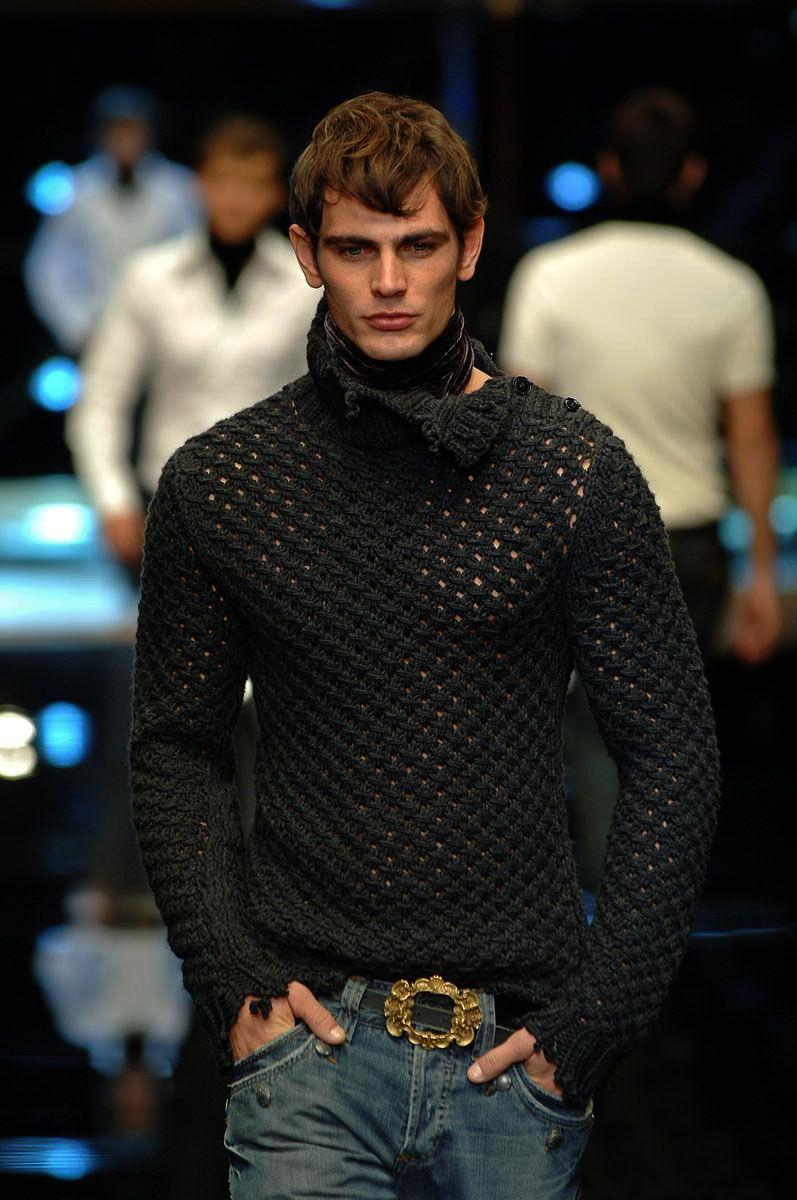 схема свитера с оленя d&g