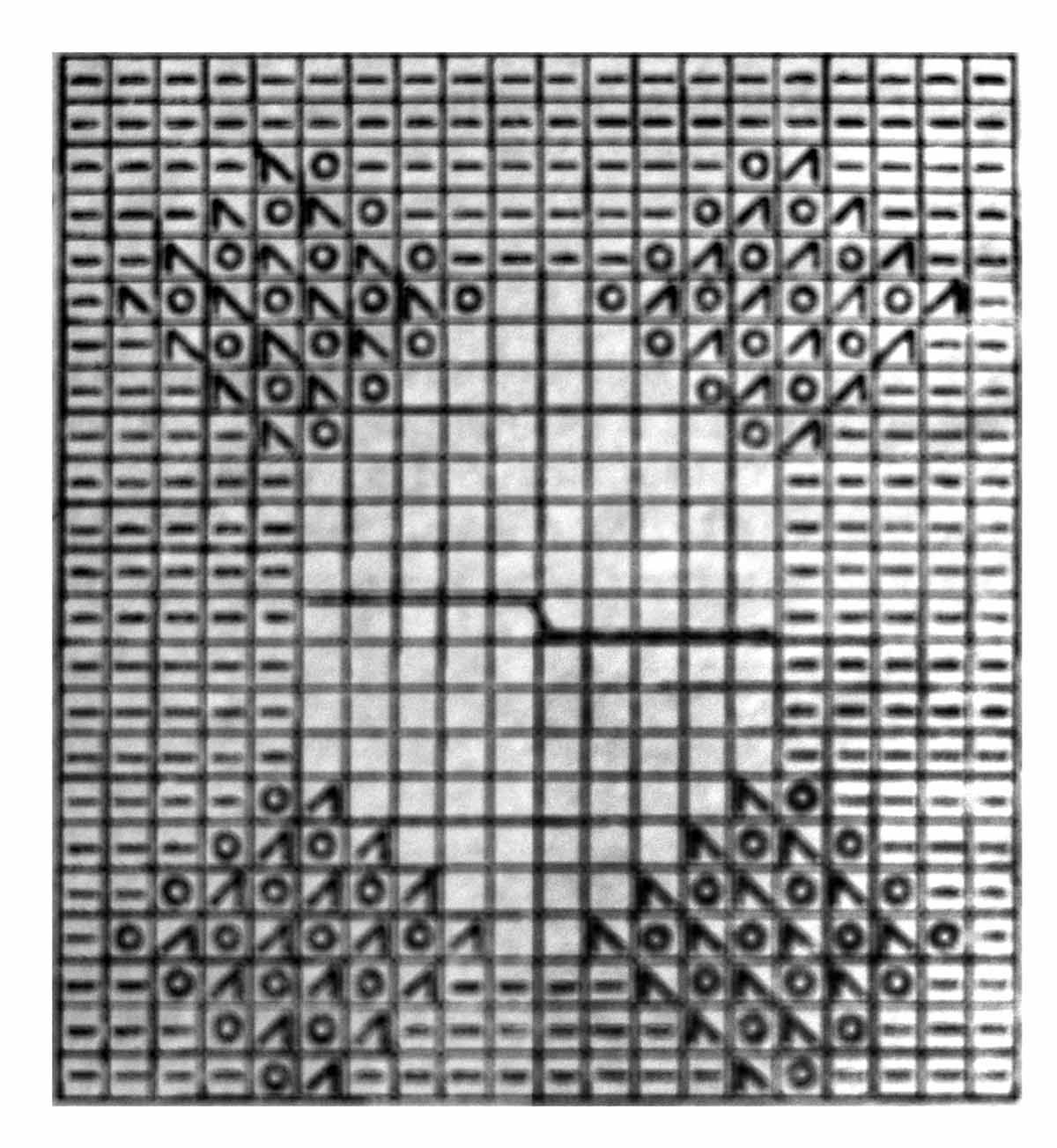 схема вязания безрукавки спицами