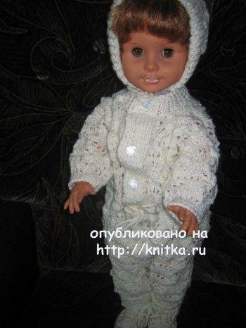 детский комбинезон спицами