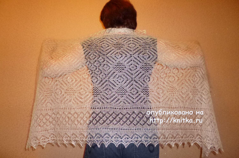 схемы вязания из козьего пуха спицами