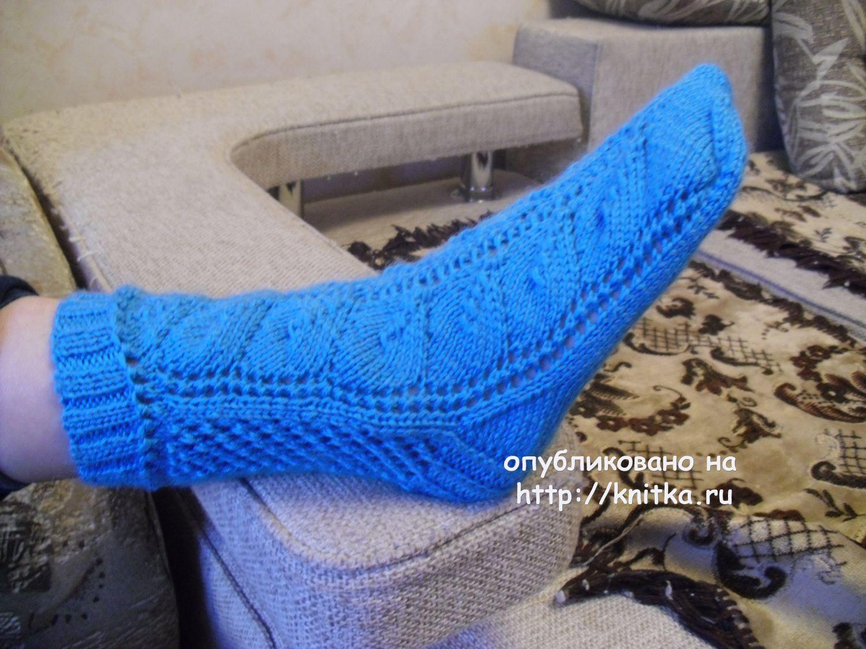 Вязание носков со светланой берсановой 29